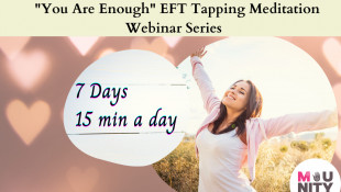 You Are Enough EFT Tapping Meditation Series Day 1 -