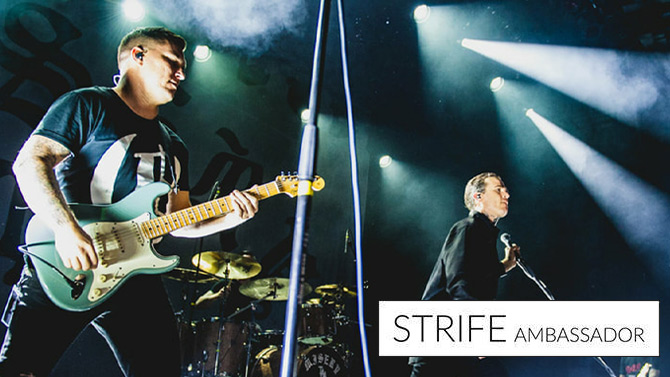 For news on alternative music and youth culture you've come to the right place. Here at Strife Magazine we have it all & more