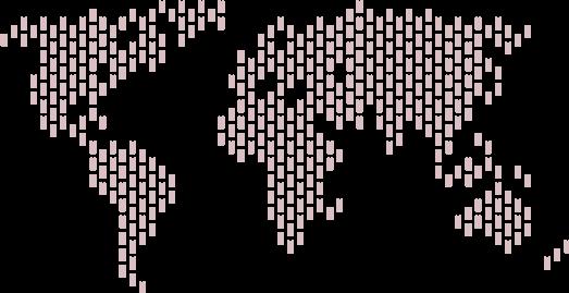 World map TheONE