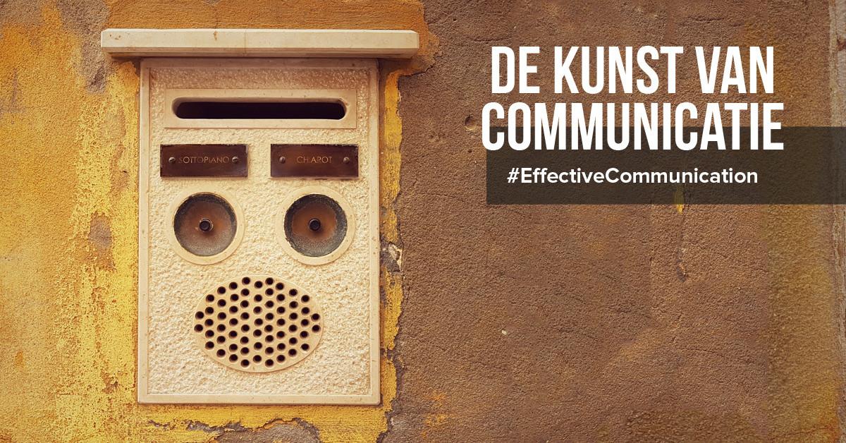 De kunst van communicatie