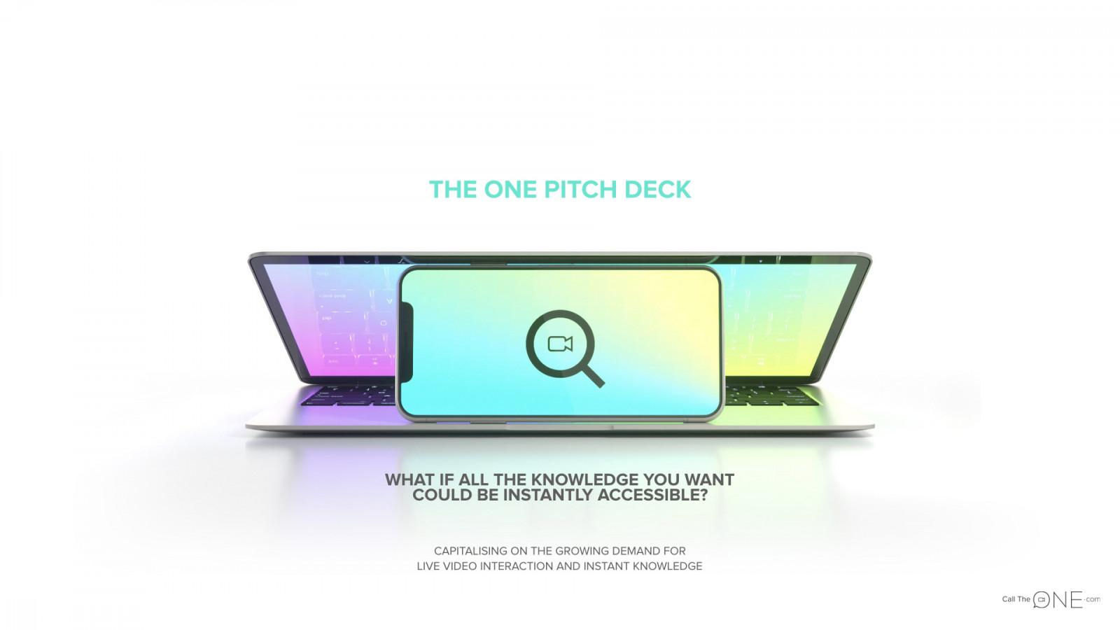 theone-pitch-deck-voorbeeld-teaser