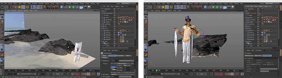 Camera Mapping Tutorial in Cinema 4D