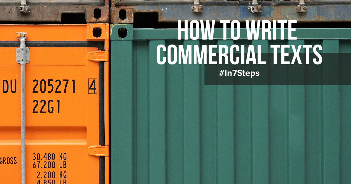 How to Write Commercial Texts