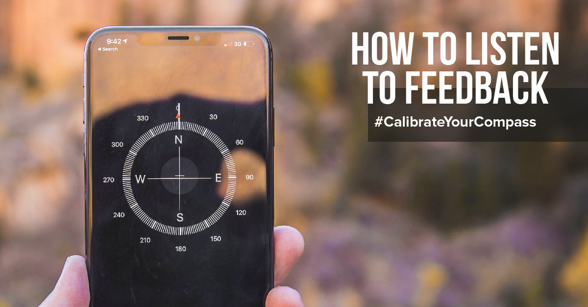 Listening to feedback with a calibrated internal compass