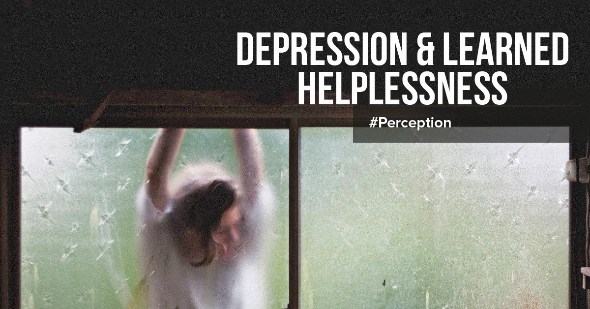 What causes learned helplessness