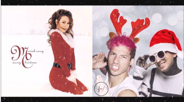 mariah-carey-twenty-one-pilots-christmas-mash-up