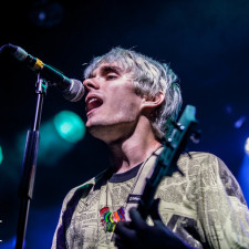 Watch Waterparks' Awsten Knight Play Drums On Travis Barker's Drum Kit