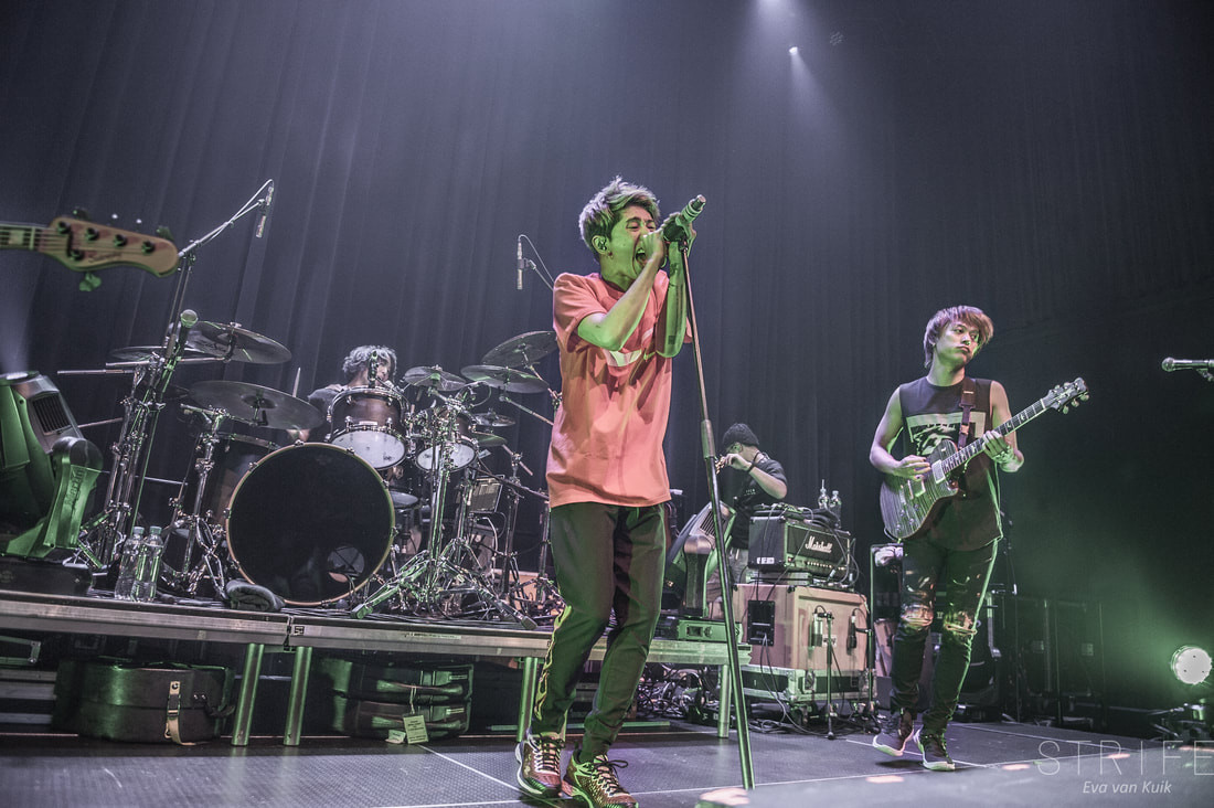 PHOTO REVIEW: ONE OK ROCK Entertain Sold Out Utrecht Crowd