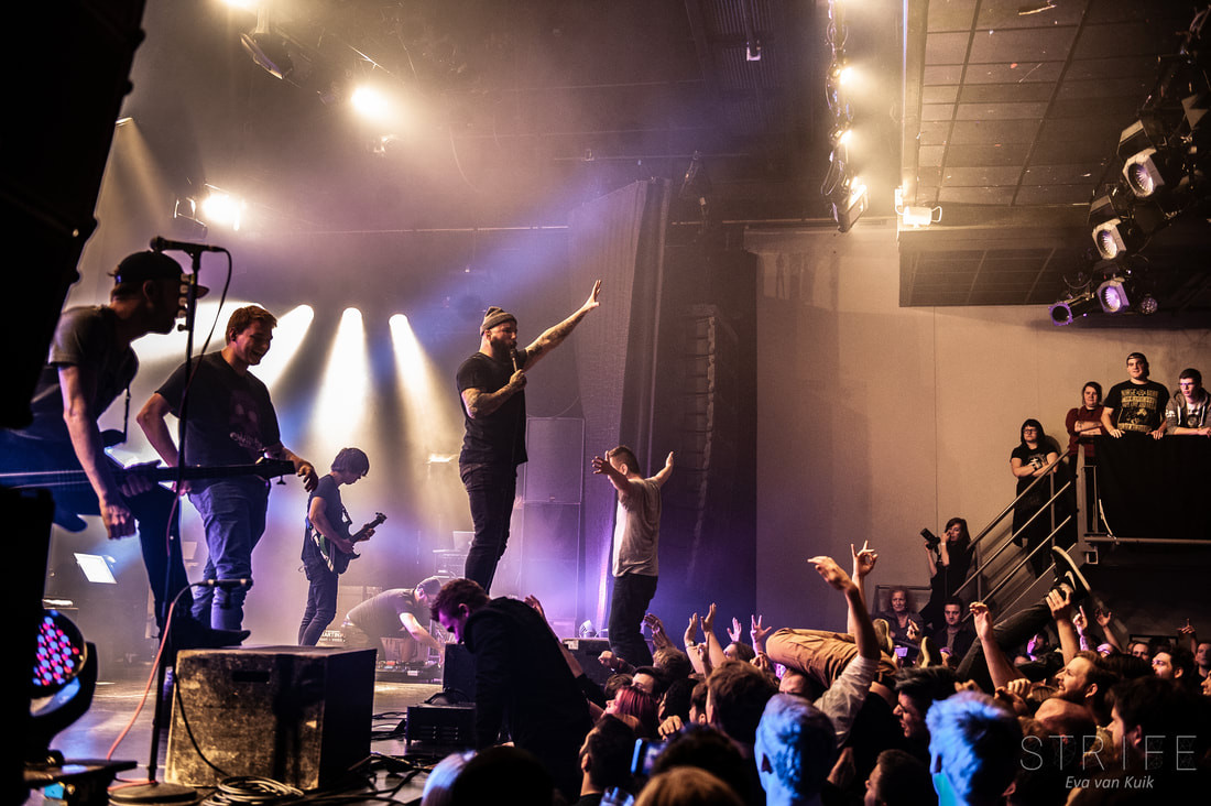 PHOTO REVIEW: August Burns Red & Betraying The Martys Set Amsterdam Ablaze