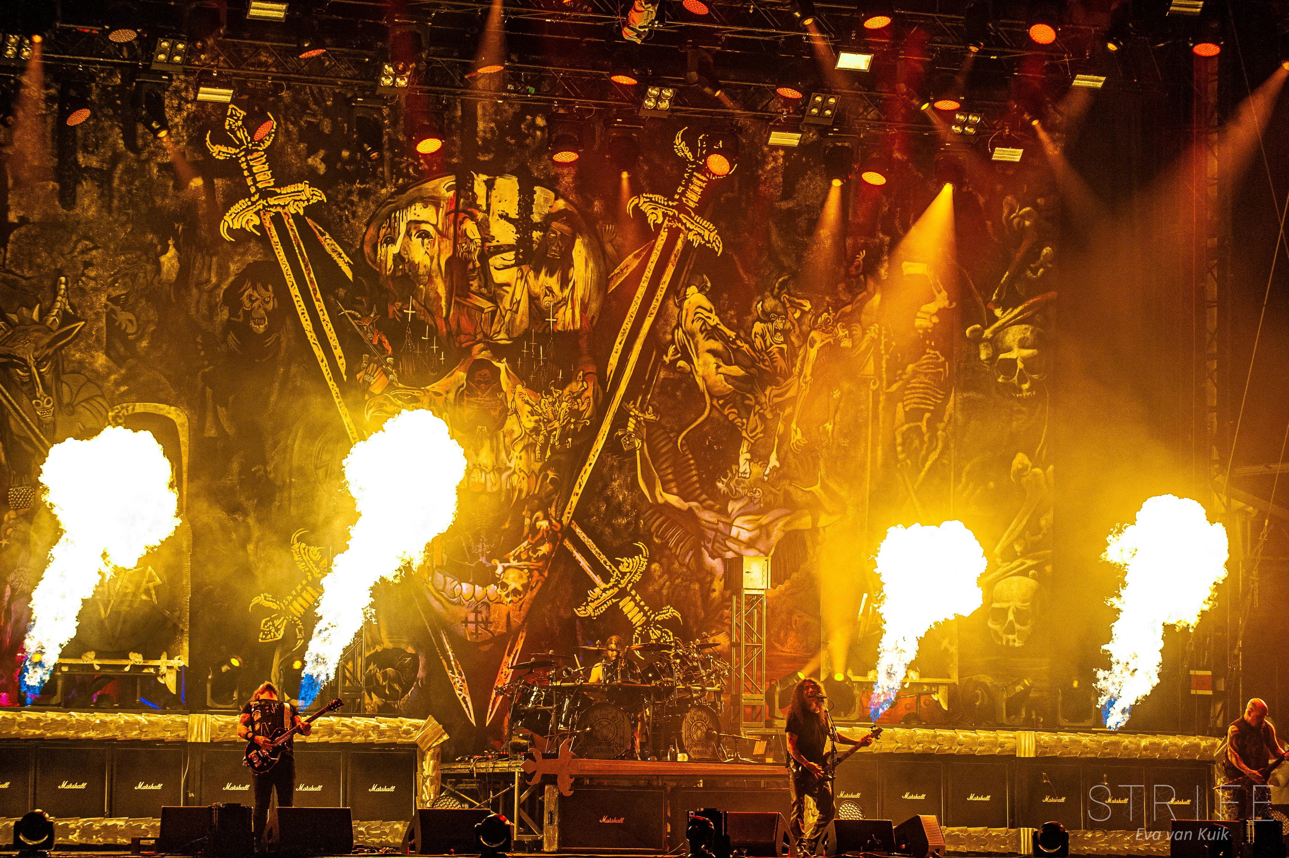 ROCK AM RING - Fotos de la última gira de Slayer