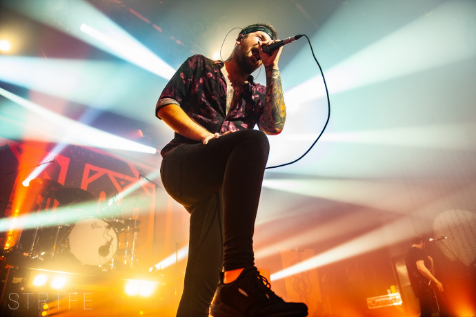 PHOTO REVIEW: Beartooth & The Amity Affliction Turn Amsterdam Into Whirling Moshpit