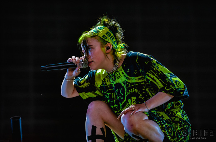 Billie Eilish Releases Small Video 'Not My Responsibility'