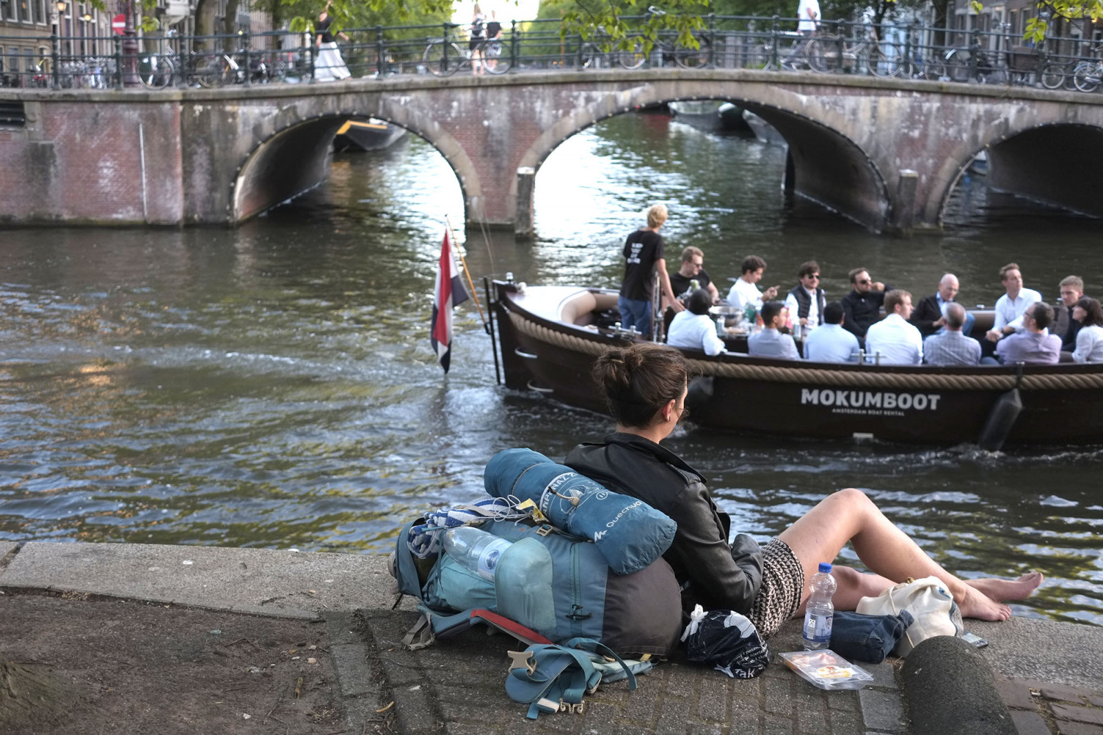 Amsterdam Photo canals and boats