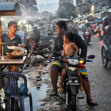 La siempre vibrante ciudad de Phnom Penh