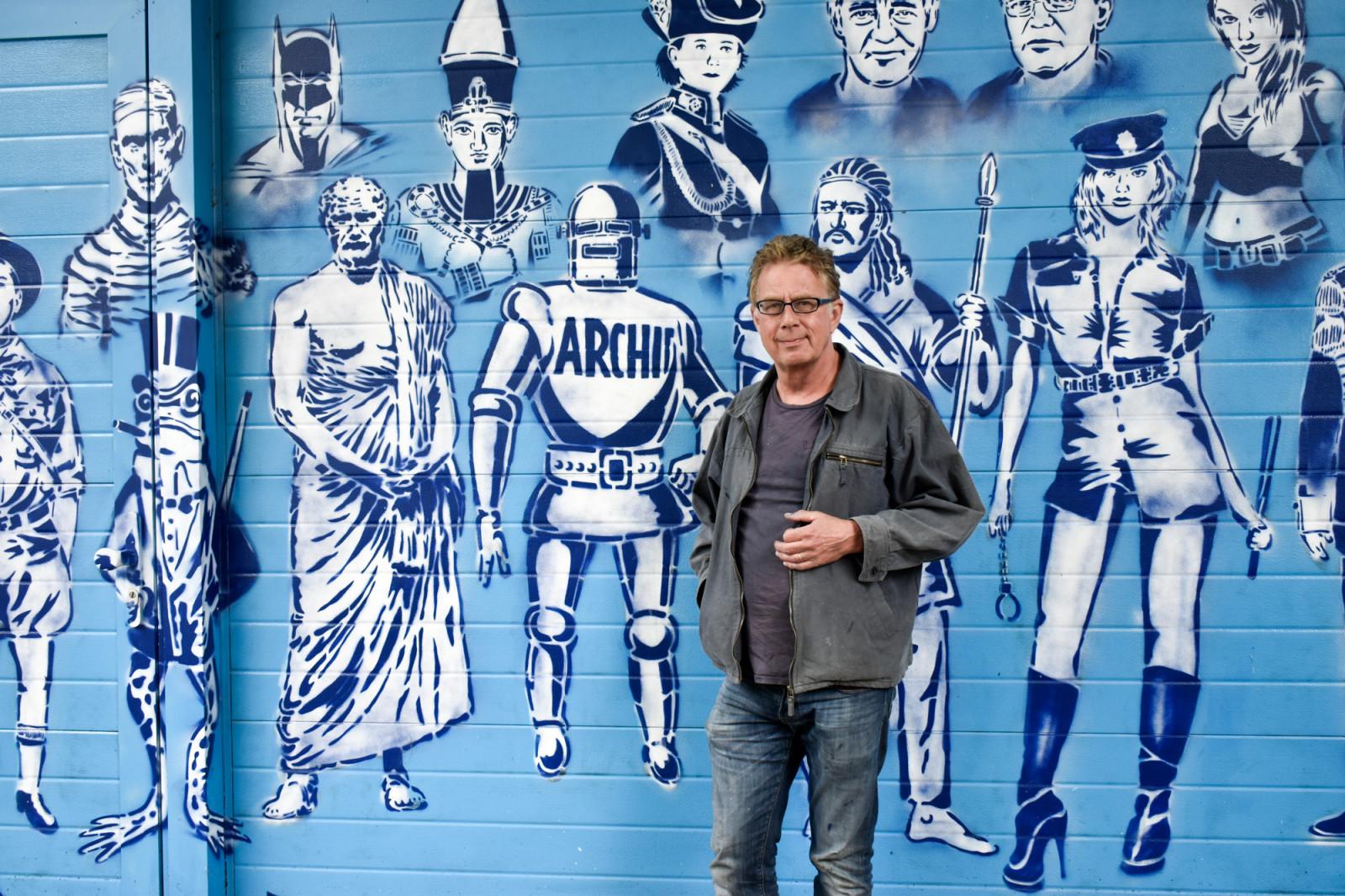 Graffiti urban Hugo Kaagman