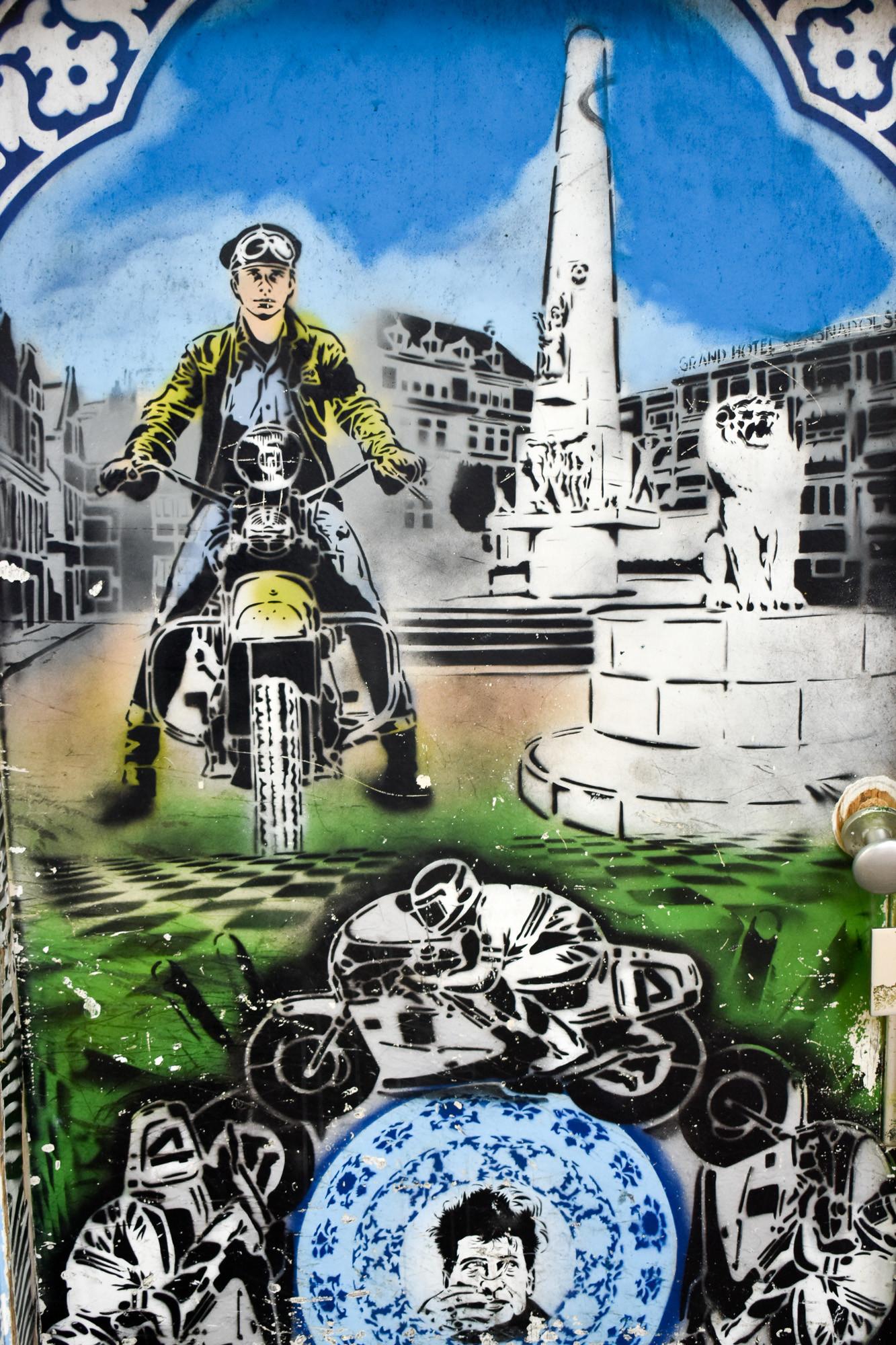 Graffiti urban Hugo Kaagman Jan Cremer