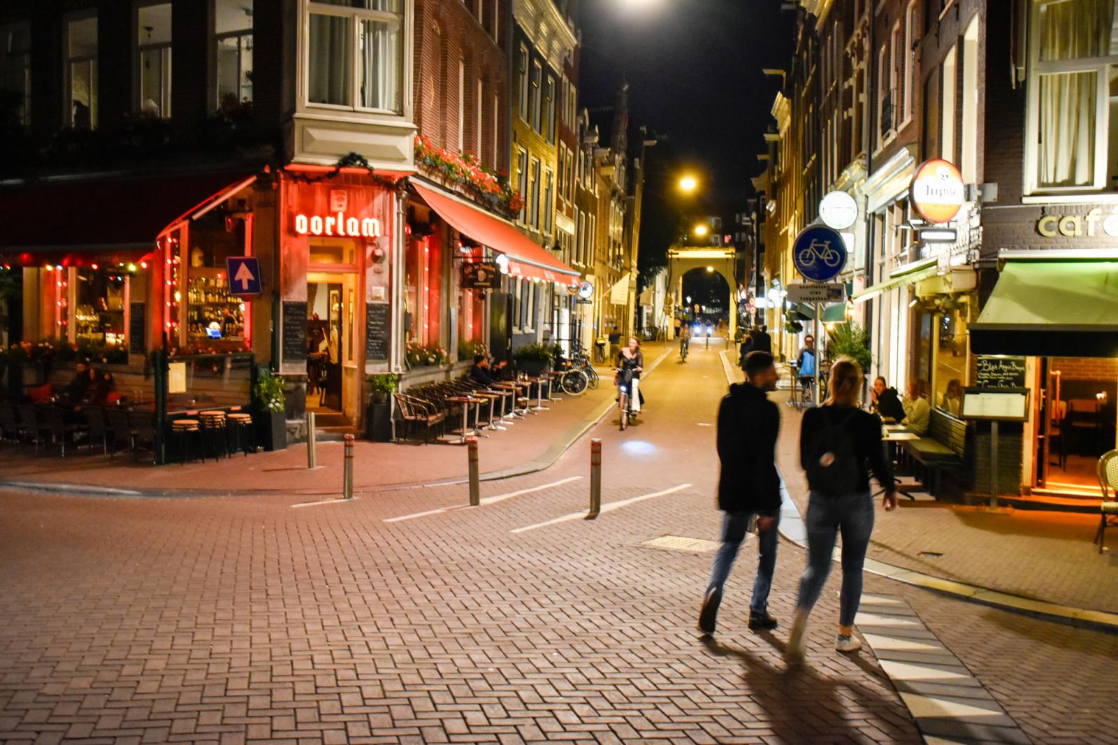 Amsterdam photo tour by night