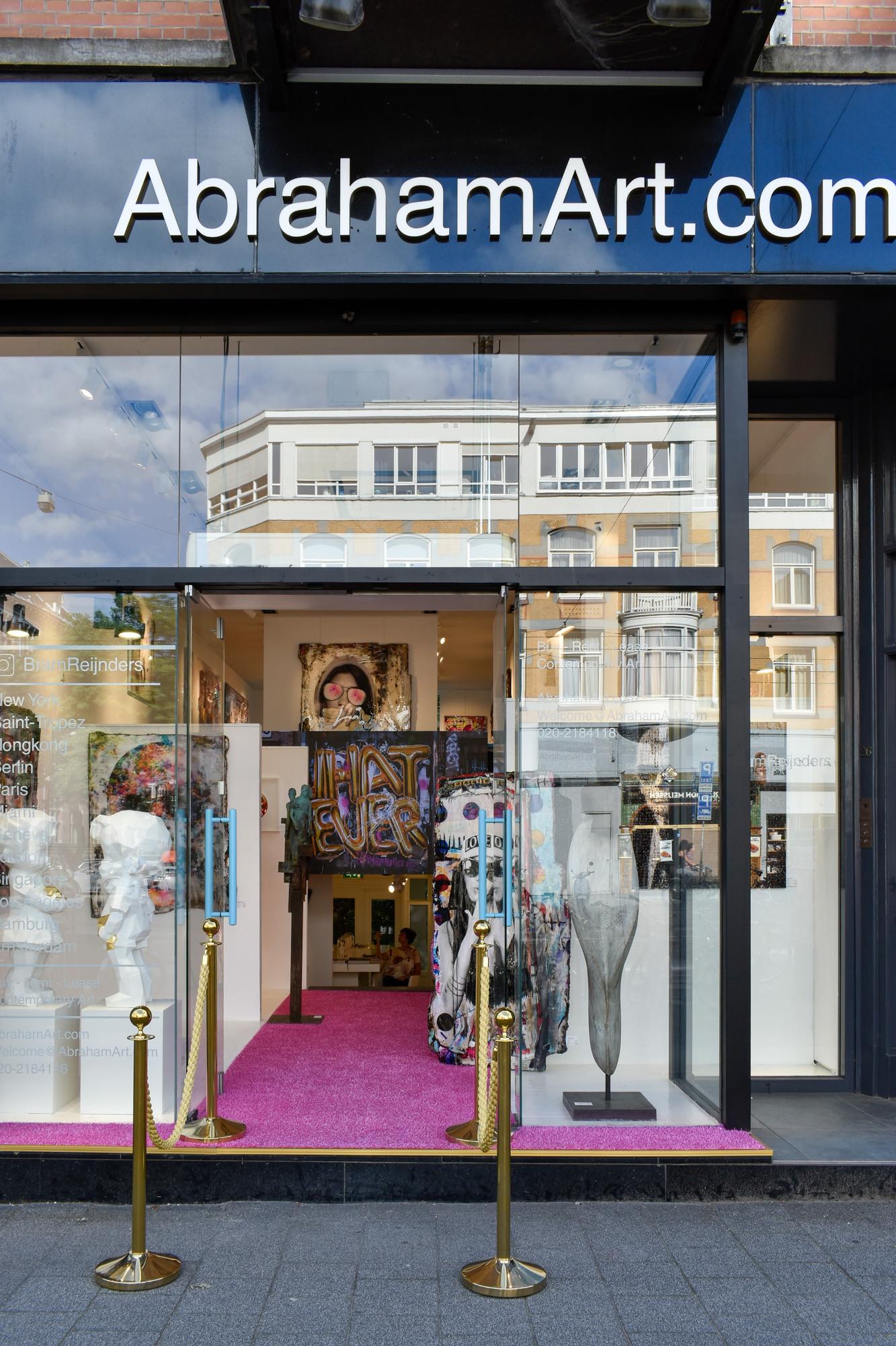 Abraham art store Amsterdam