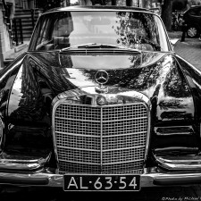 Could this be the coolest Mercedes-Benz 280SE Coupe of Amsterdam?