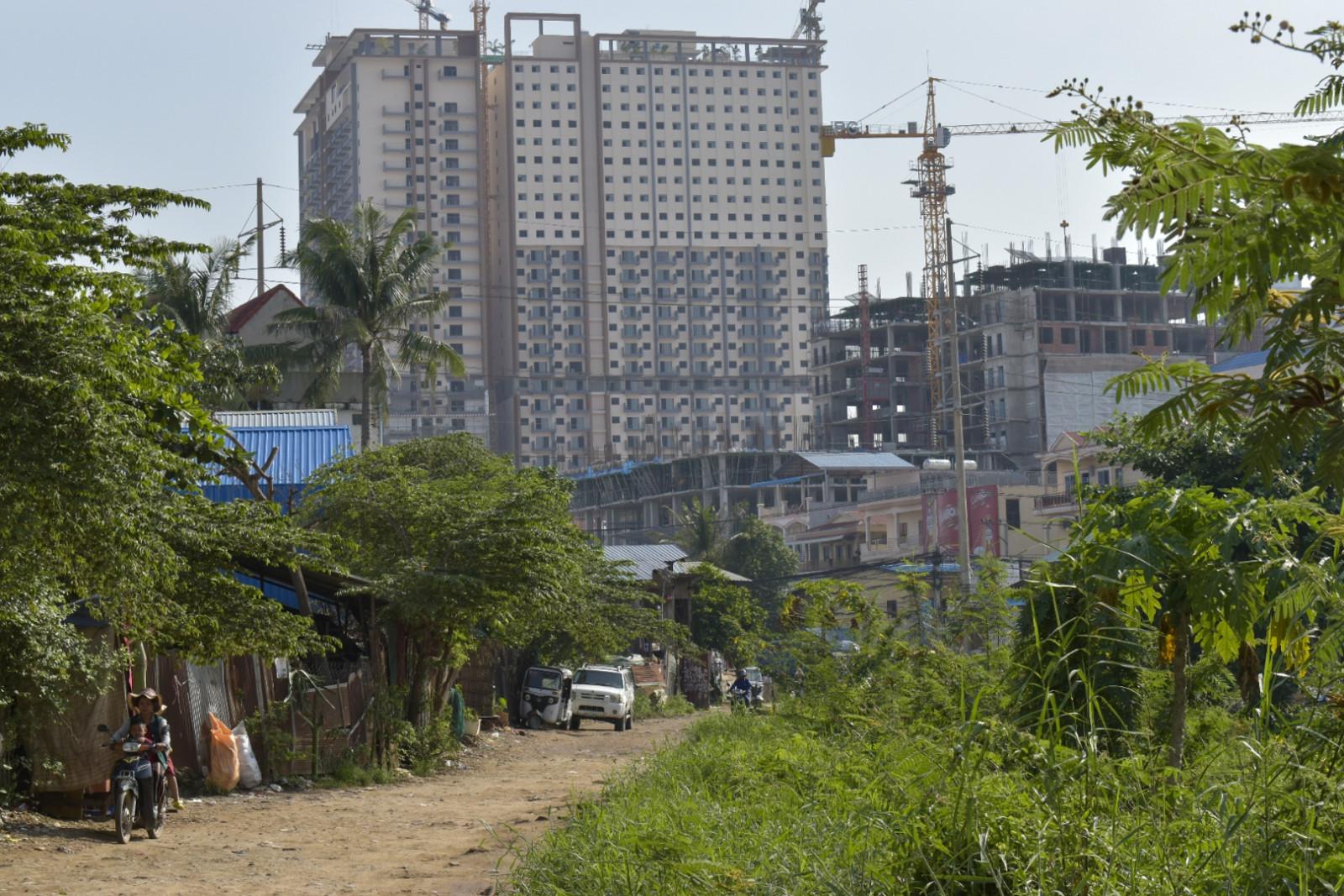 Urban sprawl Phnom Penh