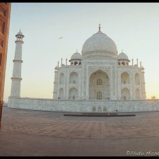 The Taj Mahal from a more unusual perspective