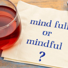 How do I start being mindful?