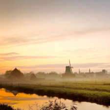 The Zaanse Schans and the Dutch windmills