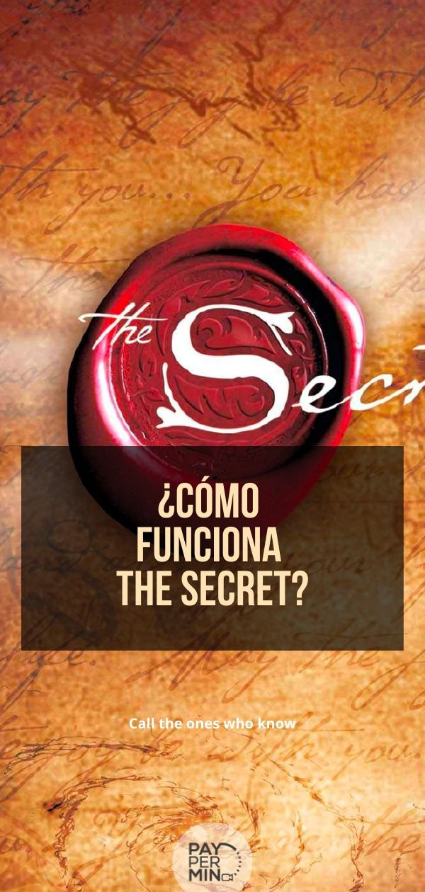 ¿Cómo funciona The Secret?