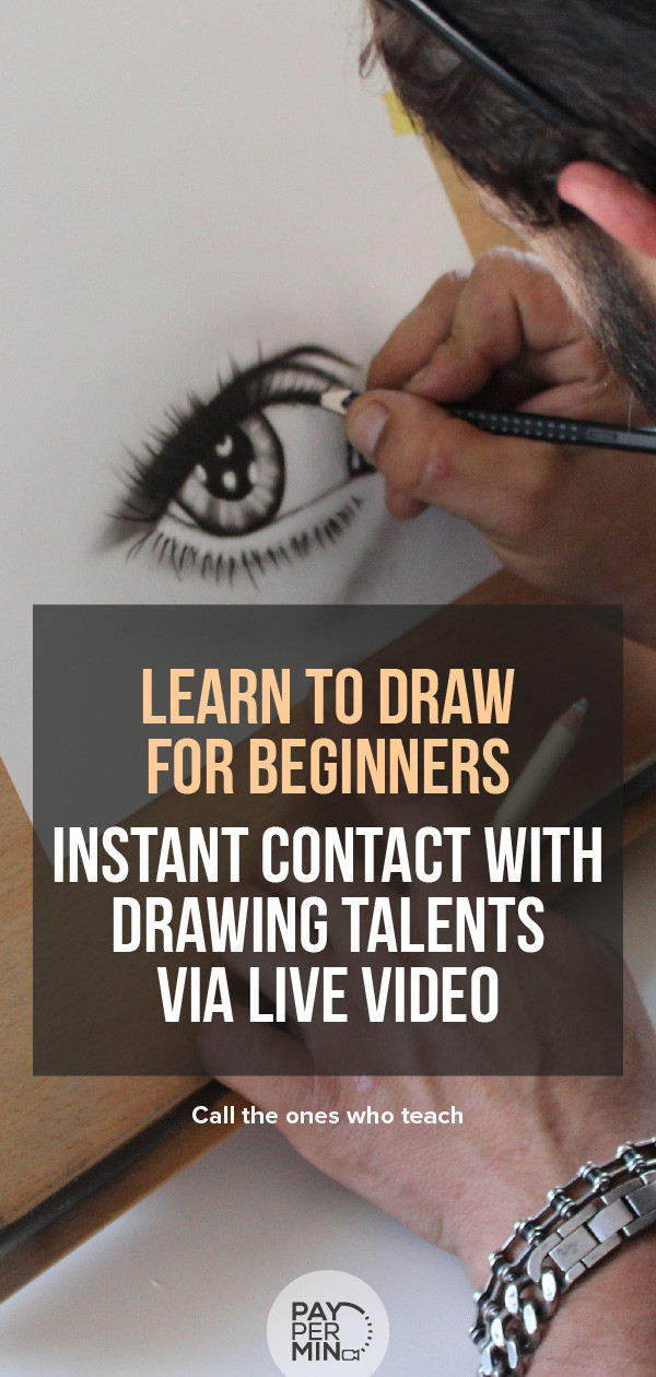 Drawing talents, teachers and tips