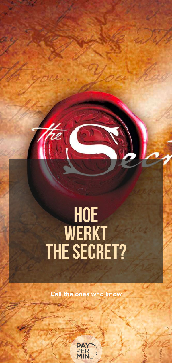 Hoe werkt The Secret