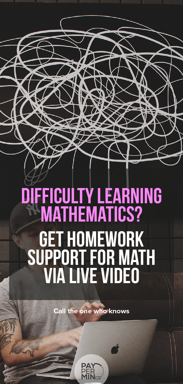 Online math tutors and homework support