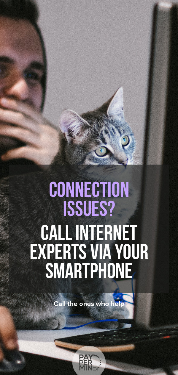 Internet connection experts to support you remotely