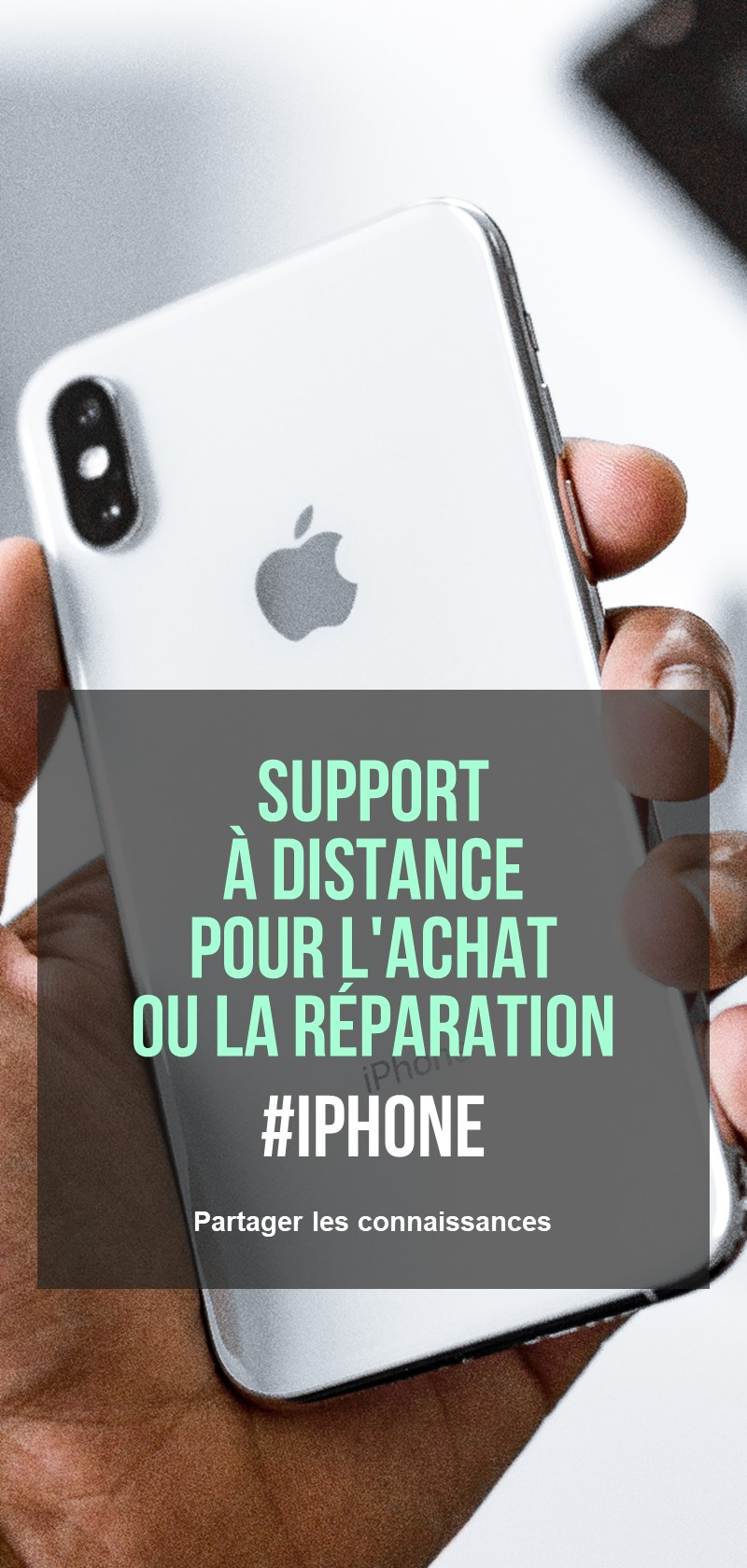 iPhone experts en réparation en ligne