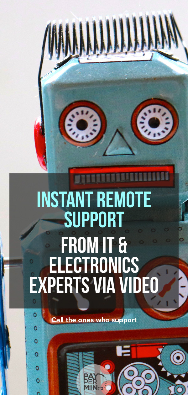 Support from experts on IT & Electronics problems and repairs