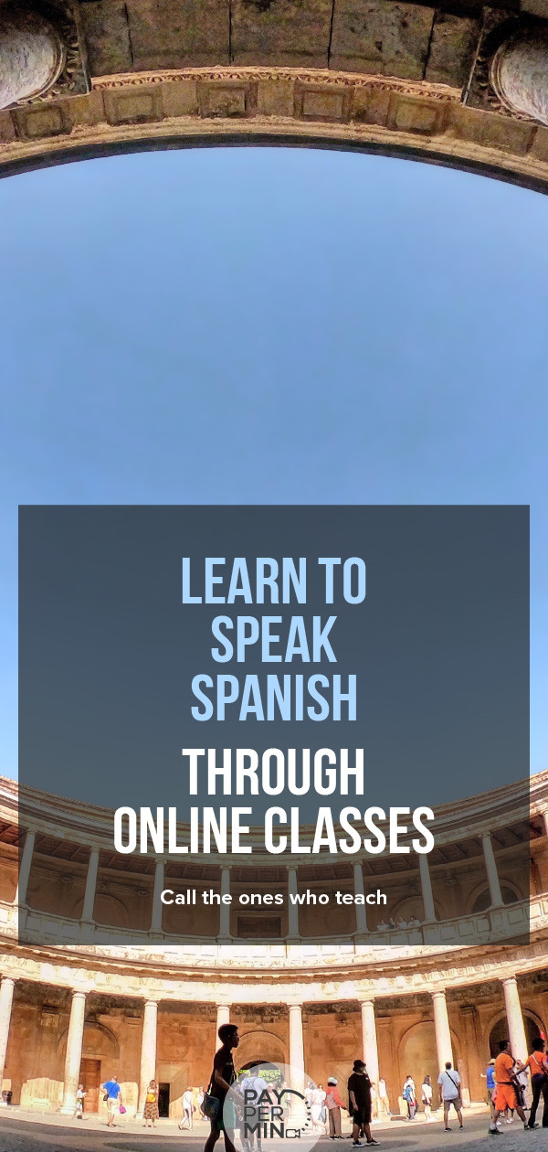 Learn how to speak Spanish through online classes