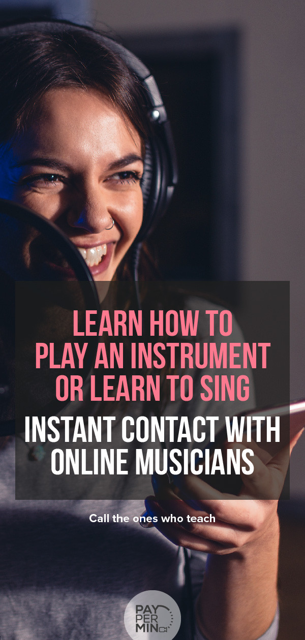 Learn from the best musicians and singers or start working with them
