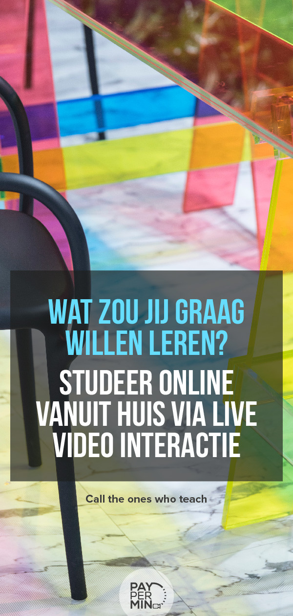 online-studeren