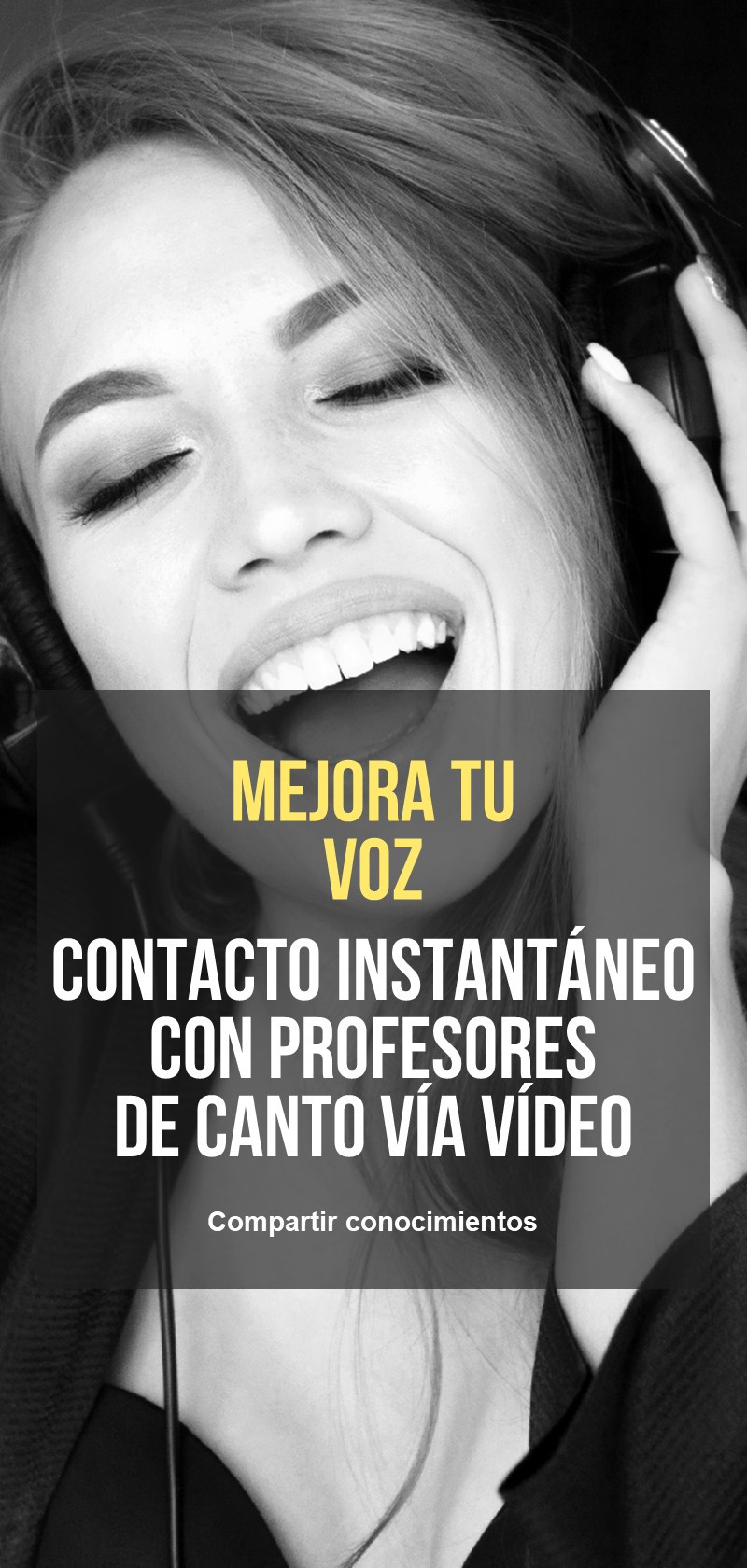 Coach vocal y lecciones online