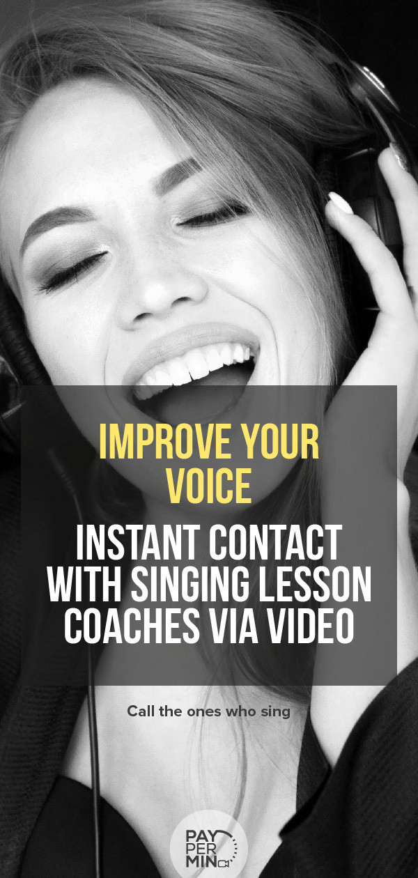 Vocal coach and online lessons