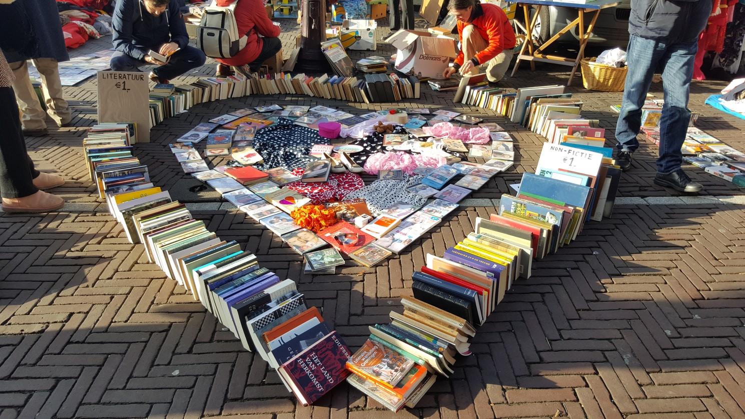 Amsterdam book market