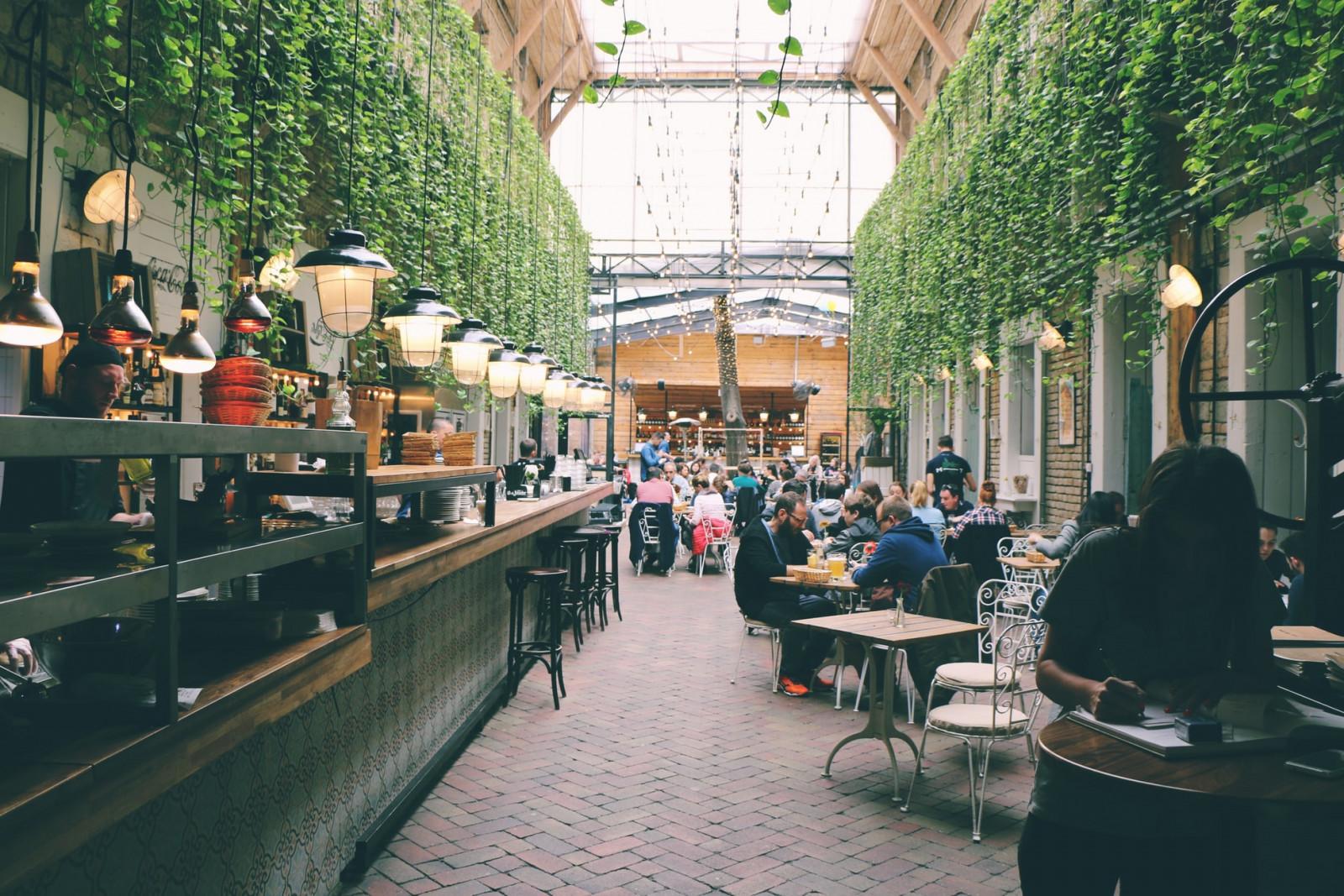 Amsterdam food market
