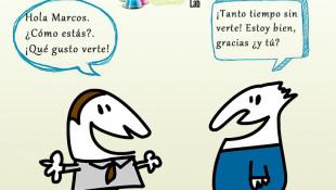 SALUDOS Y PRESENTACIONES EN ESPAÑOL