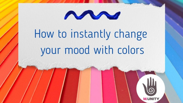 How to instantly change your mood with colors