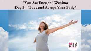 """You Are Enough"" EFT Tapping Meditation Series Day 2 - Love And Accept Your Body"