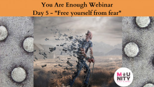 "You Are Enough EFT Tapping Meditation Series Day 5 - ""Free Yourself From Fear"""
