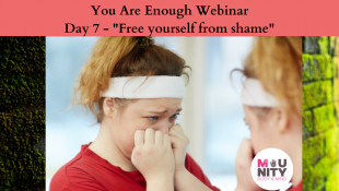 "You Are Enough EFT Tapping Meditation Series Day 7 - ""Free Yourself From Shame"""